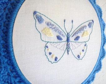 Kathy's Butterfly PDF Embroidery Pattern