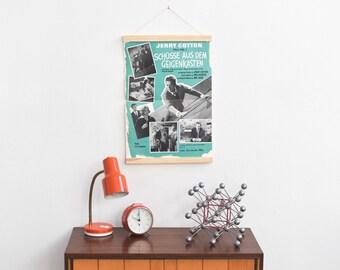 Film poster, movie poster, cinema poster, vintage movie poster, 60s movie poster, german movie