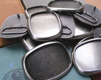 25 WHOLESALE Belt Buckle Blanks plus FREE SHIPPING