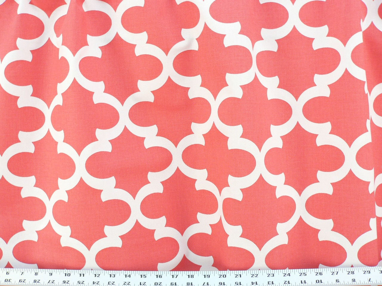 Flash Sale 48 hours only 20% off now-Coral and White Fynn
