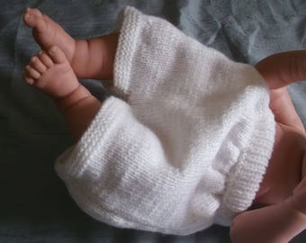 Knitted baby Bloomer reserved