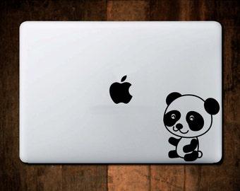 Baby Panda Decal MacBook Decal, Vinyl,Car Decal, Window Decal, ipad decal, laptop decal
