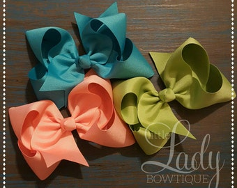 Hair-bows- made to match Matilda Jane- Joanna Gaines collection-hair bow bundle of 3-choose your size hair-bow-hair-bows made to match-