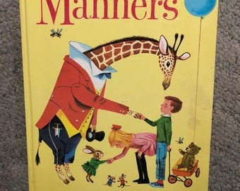 My Golden Book of Manners, Large Size