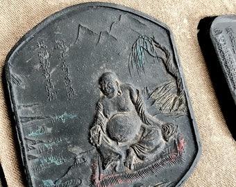 Vintage Five Buddhas Ink Stick Set (7 pieces!)