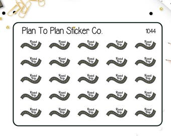 1044~~Road Trip Planner Stickers.