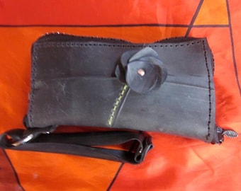 Recycled Rubber Wristlet