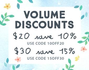 DO NOT BUY - Paper Sphinx Volume Discounts