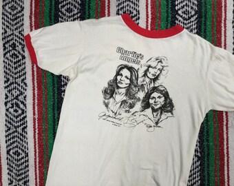 Charlie's Angels 1977 Sketch Ringer T-Shirt