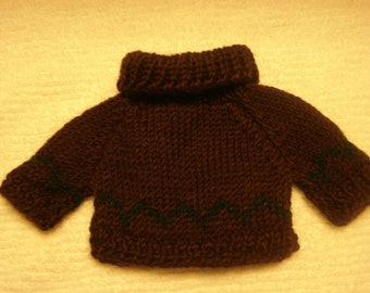 Sweater for doll or stuffed animal