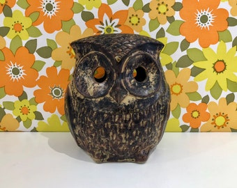Vintage Owl Money Box Bank Kitsch A Peter John Product