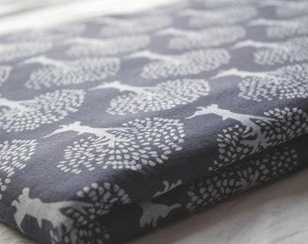 Indian Handmade Hand Block Printed Indigo Blue Cotton Fabric by Yard Dressmaking Craft Fabric Floral Pattern