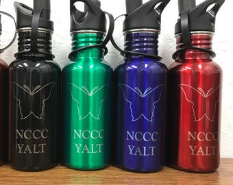 Custom Engraved Stainless Steel Water Bottle