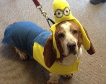Halloween Dog Costume-Minion Costume