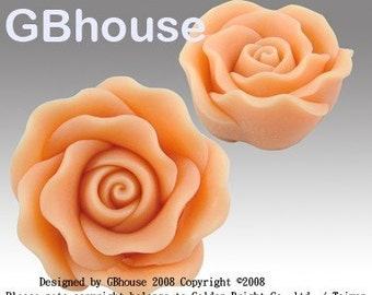 Floating Rose Silicone soap and candle Mold - free shipping