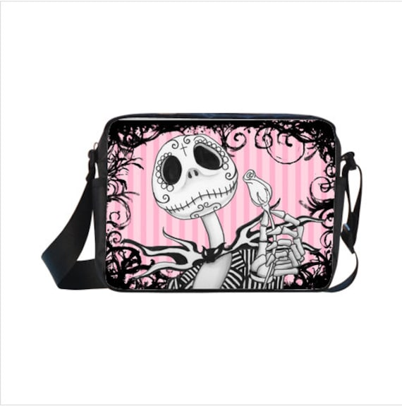 Jack Skellington Sugar Skull Cross-body Bag