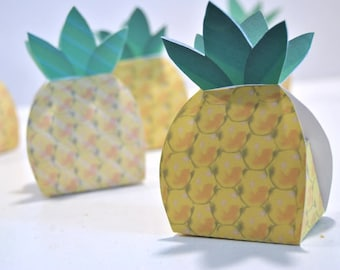 Pineapple Favor Box
