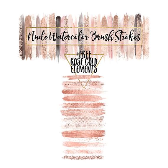 Pink Paint Brush Stroke