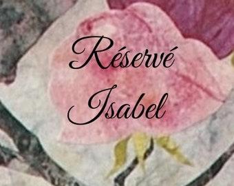 RESERVED Isabel, beads, black earthenware and Raku