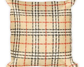 Tonga plaid Square Pillow
