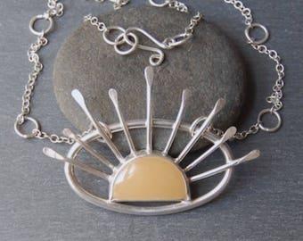 SALE. Sunburst Necklace.