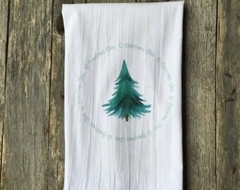 O Christmas Tree Tea Towel