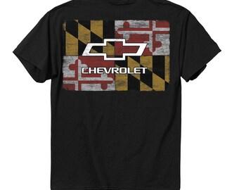 Maryland Flag Chevy