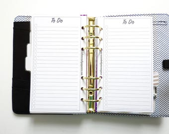 Personal Planner Inserts - To Do List Inserts - To Do Inserts - Personal Planners - Planner Inserts