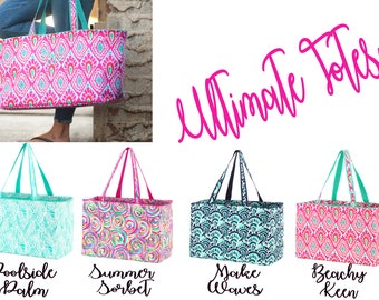 Ultimate Tote Bag, Extra Large Beach Totes, Utility Bag, Sports Bag, Shopping Bag