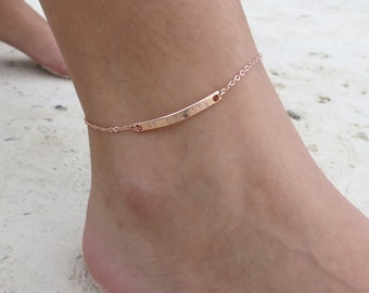 beaded anklets ankle small pin bracelet teen for her anklet jewelry gifts women