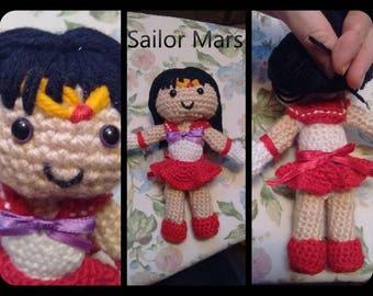 Sailor Mars Amigurumi