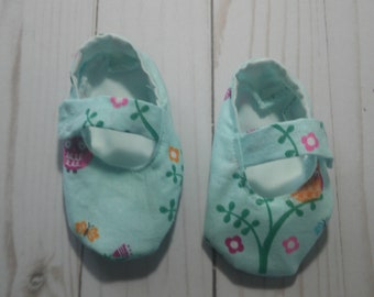 Owl Baby Girl Mary Jane Shoes