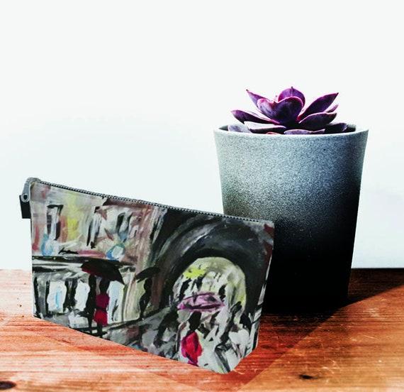 European clutch, printed clutch, zipper clutch, coluorful clutch, clutch, Bridesmaid clutch, Vintage Print, pink clutch, light blue purse