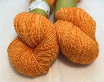 Full Moon Yarn - Zinnia - Ready to Ship - Hand Dyed - Merino Wool Yarn - Fingering Weight