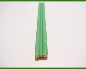 Fimo polymer clay bow for vial polymer cane miniatures nailart