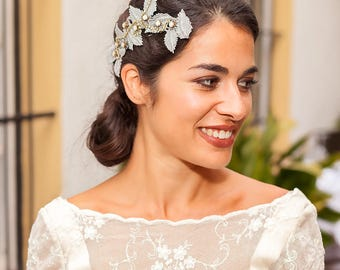 Wedding head piece SILOS