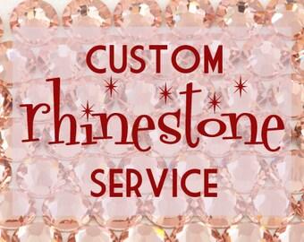 Rhinestone Add-On Option