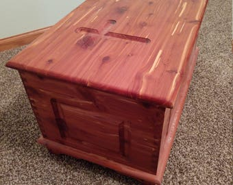 Aromatic Cedar Dedication Chest