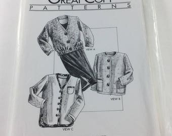 Great Copy Pattern 1265 All Season Jacket and Soft Gathered Skirt