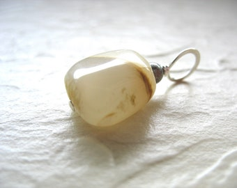 Moonstone Pendant, Gray Moonstone Gemstone Pendant Necklace, Handmade Artisan Jewelry, Moonstone Jewelry, Moonstone