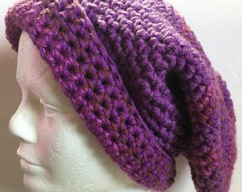 Big beret hat wearable art by Patty Wolford