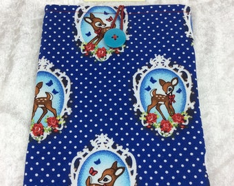 Baby Deer Bambi Tablet Case Cover Pouch iPad Kindle Small