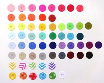 Color Sample for Confetti.