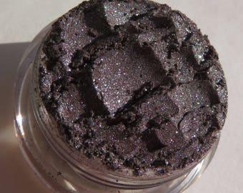 Dark Brown Rich Mineral Eyeshadow | Shimmer | Loose Pigments Eyeliner Cruelty Free | Vegan Eye Shadow or Eyeliner- Polished