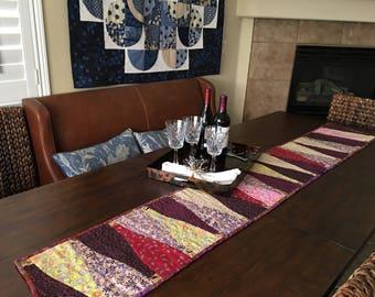 wine bottle table runner
