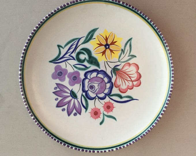 poole pottery decorative plate