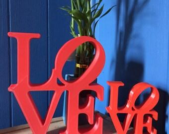 Philadelphia Love Statue!
