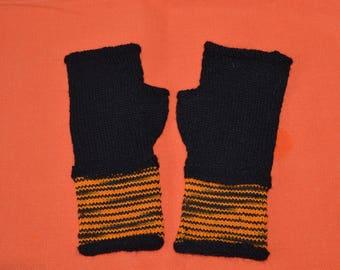Black and Orange mitts