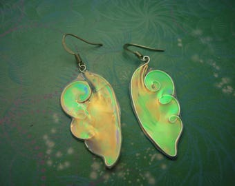 Rainbow Fairy Wing Earrings - Gift for Her