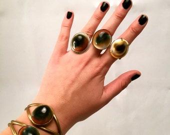 Brass Shell Bracelet